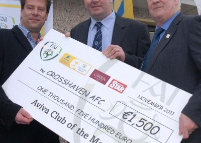 HC Crosshaven FAI Aviva Club of Month 2a