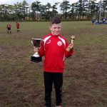 Padraig Murphy represents CAFC for Cork U13's